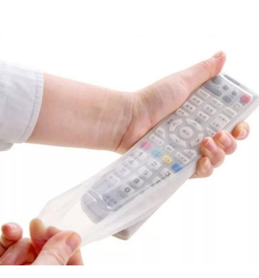Capa Controle Remoto Em Silicone, P/ Tv/dvd/blu-ray/som