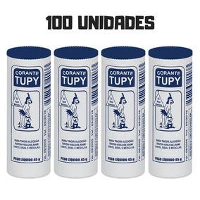 100 Tinta Corante Roupas Azul Marinho 45g Atacado Revenda