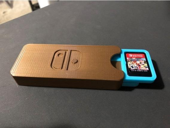Case Para Jogos Nintendo Switch Para 8 Jogos- Porta Jogos