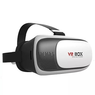 Lentes De Realidad Virtual Vr Box Blanco Negro