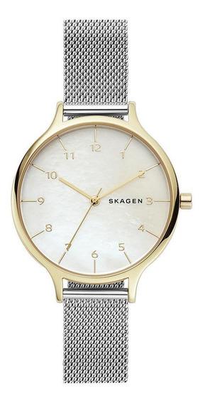 Relógio Skagen Feminino Anita Bicolor - Skw2702/1pn