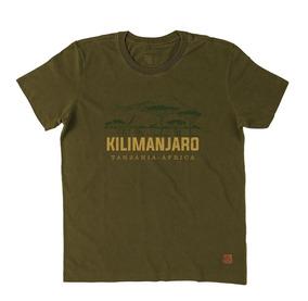 Camiseta Blusa Kilimanjaro Trilha Acampamento Aventura