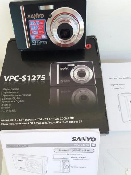 Câmera Digital 12 Megapixel Lcd 2.7 3 X Zoom Optical