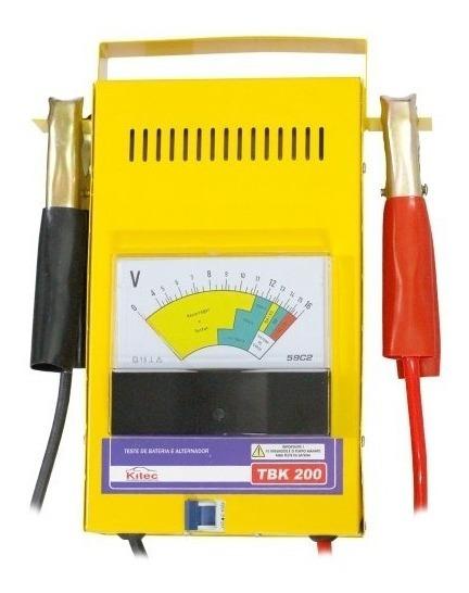 Teste De Bateria E Sistema De Carga + Auto Elétrica