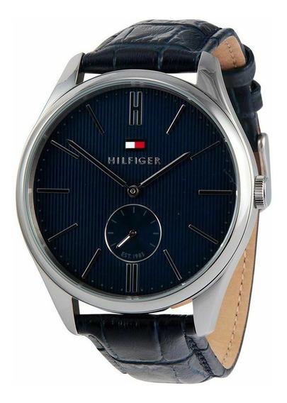 Relógio Tommy Hilfiger | Curis Blue | Pulseira De Couro