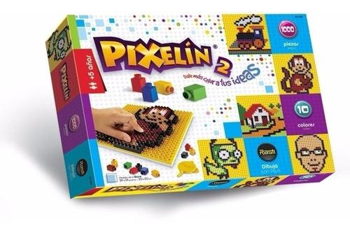 Pixelin 2 10 Colores 1000 Piezas