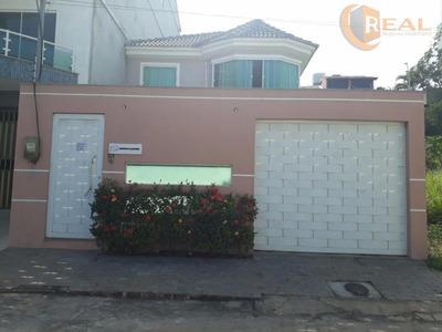 Linda Casa No Bairro Da Glória, 03 Quartos, Sendo 1 Suite. 4 Banheiros. - Ca0247