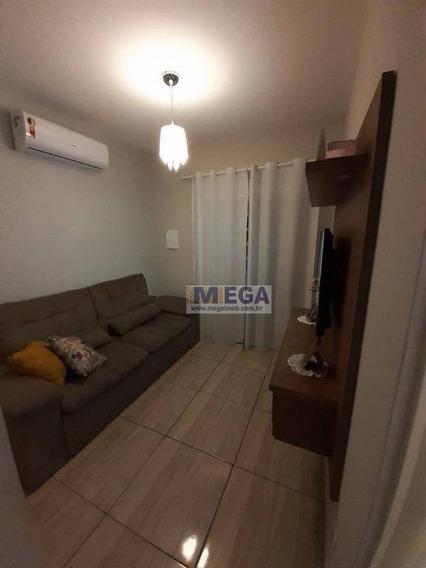 Casa Com 2 Dormitórios À Venda, 50 M² Por R$ 308.000 - Loteamento Residencial Porto Seguro - Campinas/sp - Ca1211