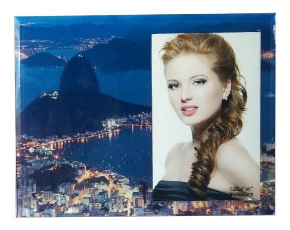Porta Retrato Vidro Paisagem Rio De Janeiro Fotografia Foto