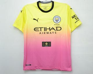 Camisa Do Manchester City Nova 2019 Oficial - Mega Oferta