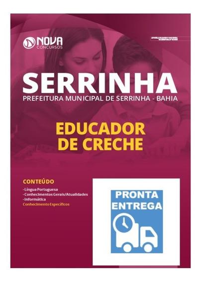 Apostila Prefeitura De Serrinha - Ba 2020 Educador De Creche