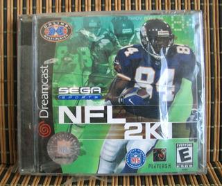 Nfl 2k1 - Sega Dreamcast Deportes - Visual Concepts - Nuevo