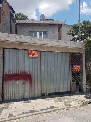 Sobrado 140m² C/ 03 Dorms (01 Suite). Cidade Soberana.