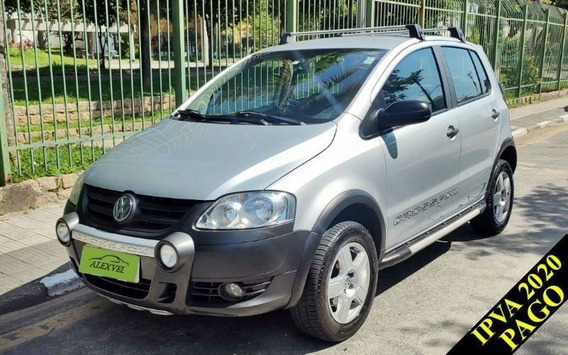 Volkswagen Crossfox 1.6 Mi 8v 2008 Completo Único Dono