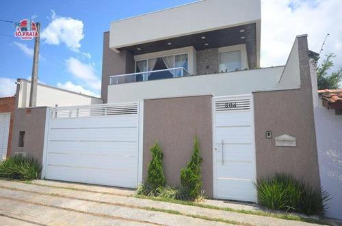 Casa Com 5 Dormitórios À Venda, 375 M² Por R$ 1.600.000 - Jardim Itanhaém - Itanhaém/sp - Ca5320