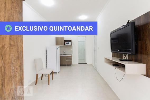 Studio No 1º Andar Com 1 Dormitório - Id: 892948830 - 248830