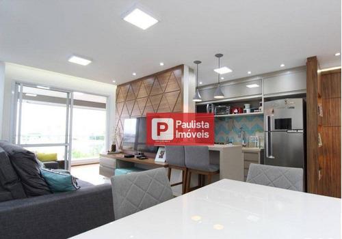 Apartamento À Venda, 69 M² Por R$ 650.000,00 - Chácara Santo Antônio (zona Sul) - São Paulo/sp - Ap29912