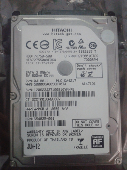 Hdd 500gb 7200rpm
