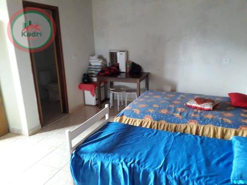 Casa Com 3 Dormitórios À Venda, 110 M² Por R$ 259.000,00 - Solemar - Praia Grande/sp - Ca1268