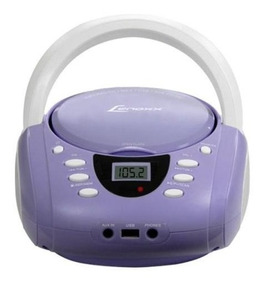 Radio Boombox Lav E Bco Fm, Cd, Mp3 Lenoxx Biv - Bd120lb