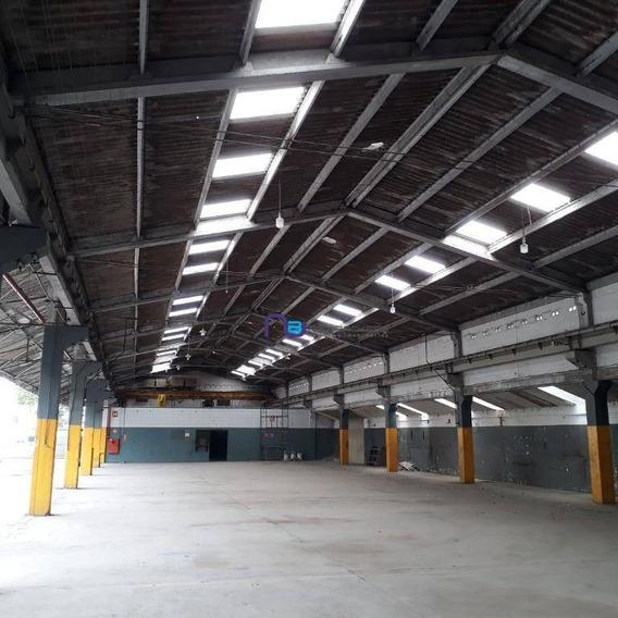 Galpão Comercial Para Locação, Vila Independência, São Paulo. - Ga0572
