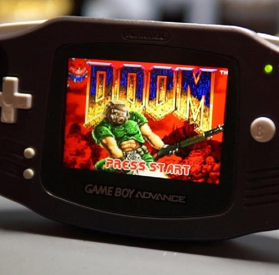 Ips Game Boy Advance Versao 2 Melhor Que 101 Luz -10 Níveis