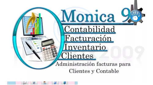 Monica 9 Programa Contable Administrativo Factura Inventario