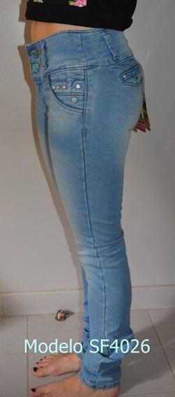 Pantalón Jean Para Dama Bonage 20v