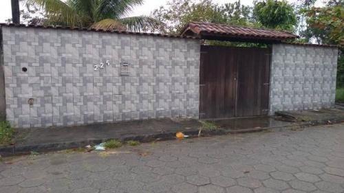 Vendo Casa Com Quintal | Nova Itanhaém No Litoral - 6817 Npc