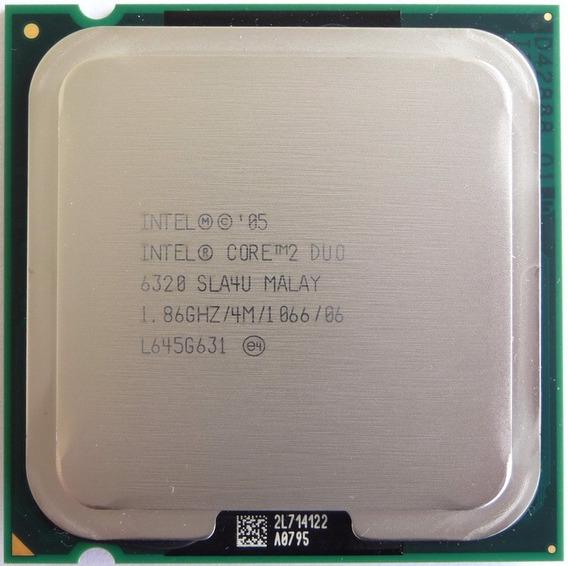 Processador Intel Core 2 Duo 6320 1.86ghz 4m 1066 Socket 775