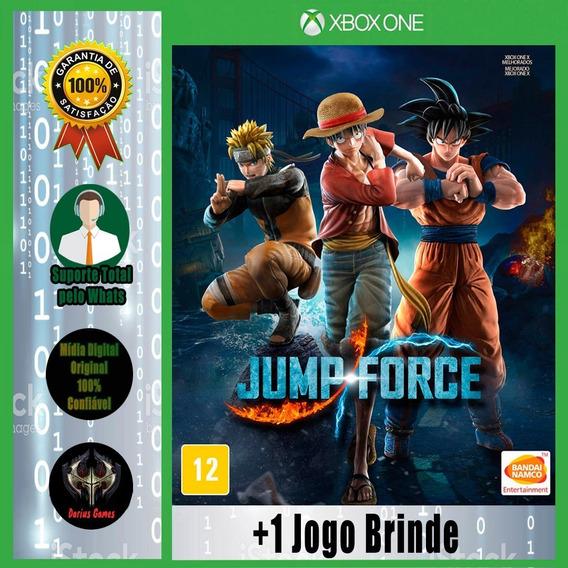 Jump Force Xbox One Midia Digital +1 Jogo Brinde