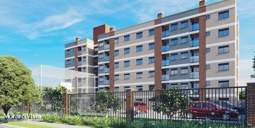 Imagem 1 de 15 de Apartamento Para Venda Em São José Dos Pinhais, Parque Da Fonte, 2 Dormitórios, 1 Banheiro, 1 Vaga - Sjp4004_1-1800185