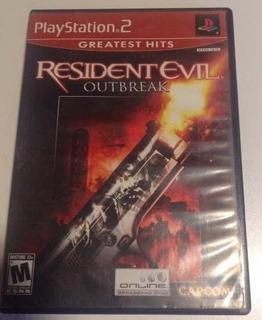 Resident Evil Outbreak Ps2 Usado Meses
