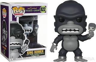 Funko Pop King Homer Toh The Simpsons Terror Original 822