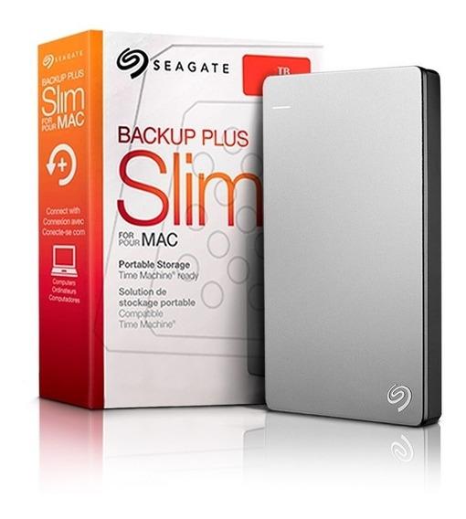 Hd Externo Seagate 1tb Backup Slim Portable Usb 3.0 Pc Mac