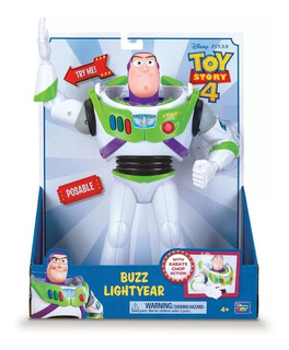 Figura Buzz Lightyear Karate Toy Story 4 Original / Diverti