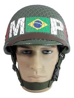 Capacete M1 Feb Força Expedicionária Brasileira M1br 16