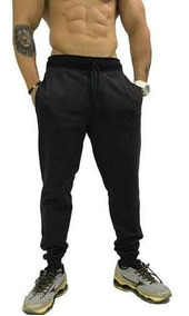 Calça Moletom Peluciada Masculina Saruel Plus Size G4 G5 G6