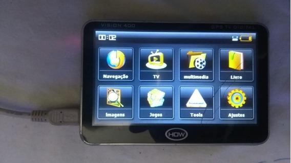 Defeito Gps How Vision 400 Ligando Touch Trincado
