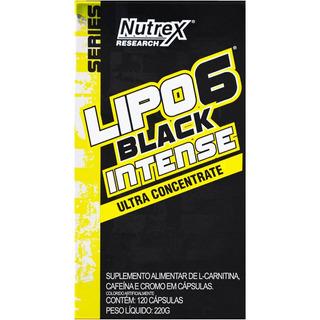 Lipo6 Black Intense Ultraconcentrado 120 Caps