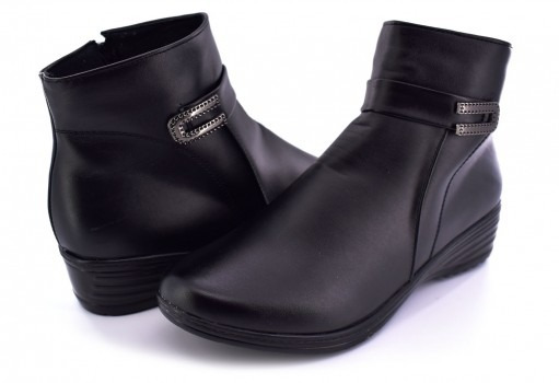 Botin Furor 14045 Black 23-27 Damas