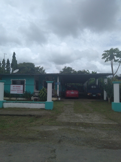 Vendo Casa En Los Algarrobos A Orilla De Calle