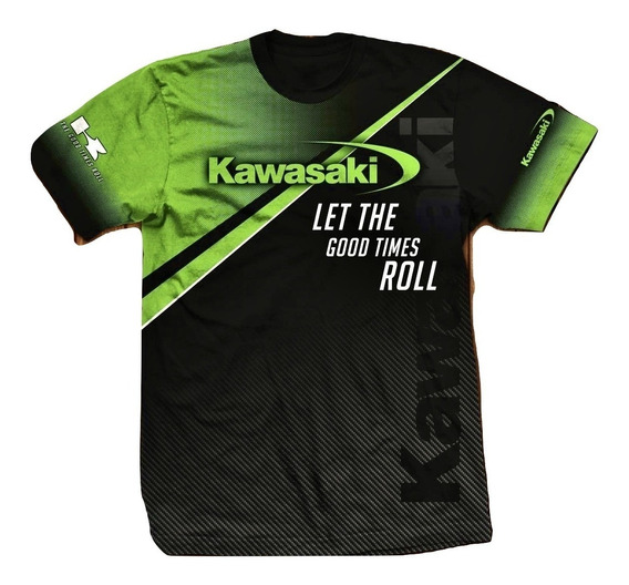 Remera Kawasaki Urban Ryder Atv Motocross Utv