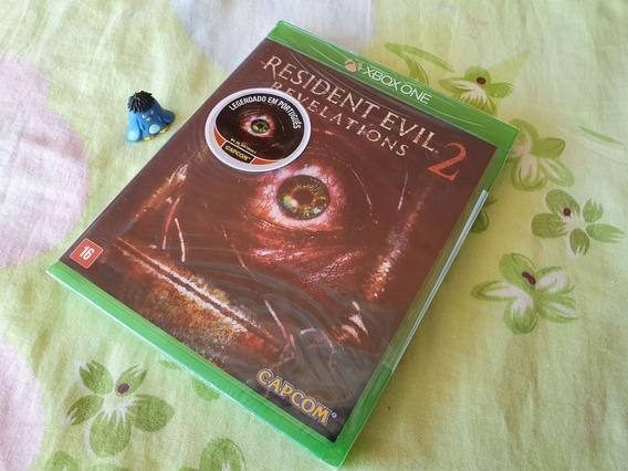 Xbox One Resident Evil Revelations 2 Midia Física Lacrado