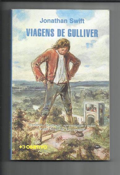 Livro: Viagens De Gulliver - Jonathan Swift - Objetivo