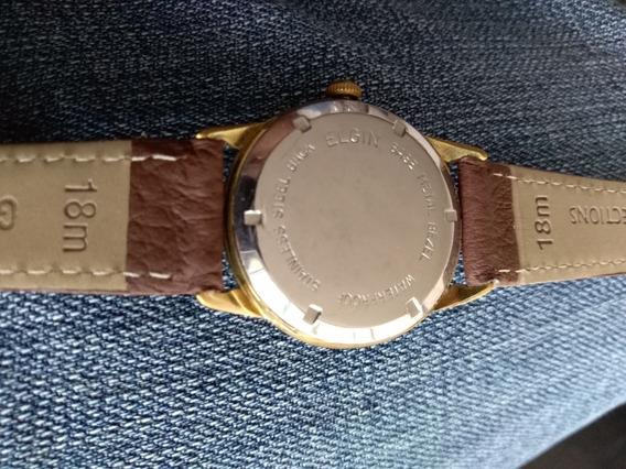 Reloj Elgin Chapa Oro Vintage