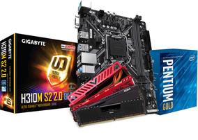 Kit Intel Pentium G5400 Mb H310m S2 4gb Ddr4 2400mhz