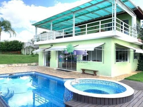 Casa Em Condomínio Fechado Riviera Do Jaguari Com Acesso A Represa De Piracaia - Co00315
