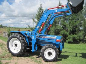 Tractor Iseki Tl 4500 4x4 Con Pala Nueva