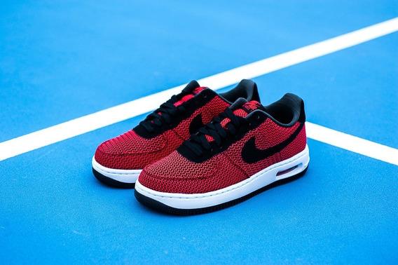 Nike Air Force 1 Elite Txt Crimson/black